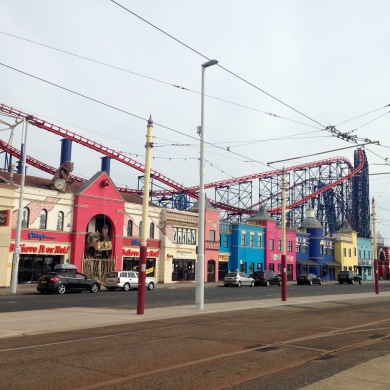 Pleasure Beach, Blackpool.
