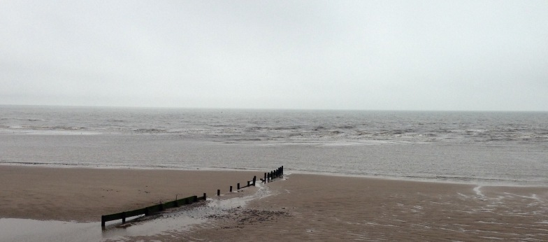 Between Blackpool & Fleetwood.