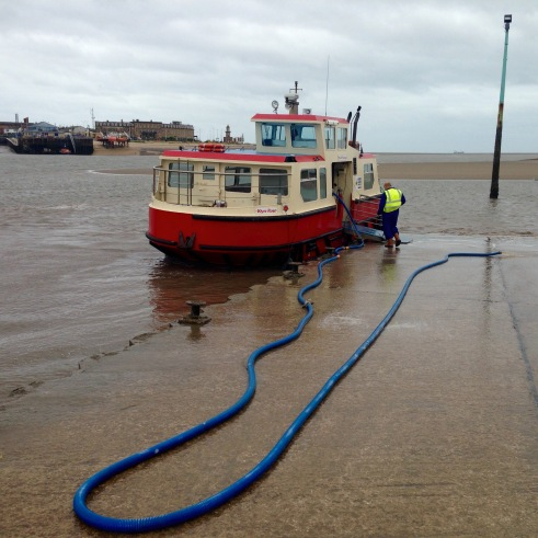 Fleetwood - Knott End ferry.