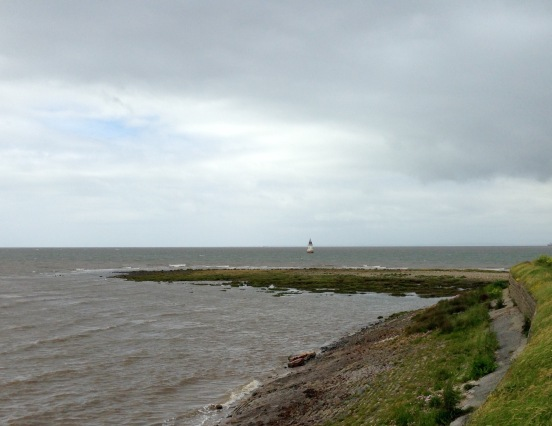 Round Plover Scar: mouth of the River Lune to Lancaster.