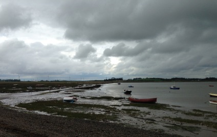 Tidal causeway to Sunderland Point.