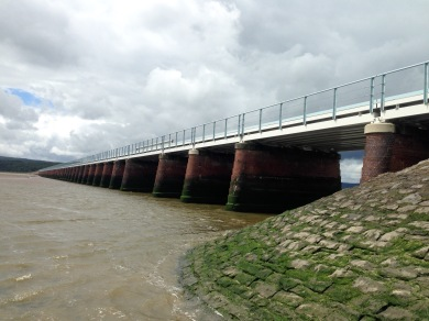 The viaduct at Arnside.