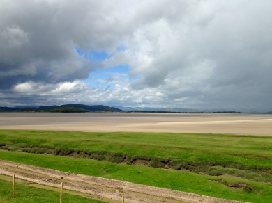 Arnside, looking ahead to the next walk ...