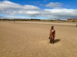 Anthony Gormley; Beach Sculpture.