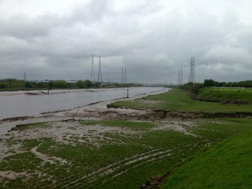 The gathering storm; approaching Preston.