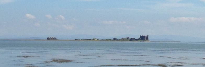 Piel Island from the south.