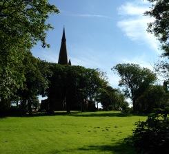 The church at Millom.