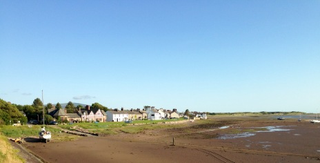 Ravenglass; evening light.