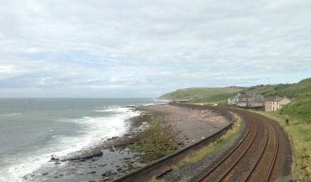 Barrow to Carlisle coastal railway.