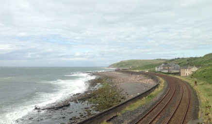 Barrow to Carlisle coastal railway.