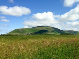 Black Combe, above Millom.