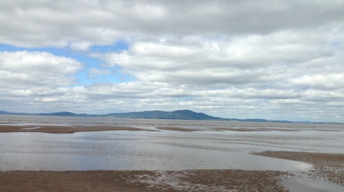 Across the Solway Firth.