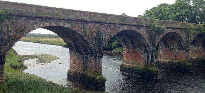 The bridge at Annan.