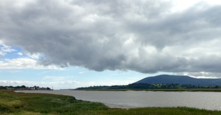 The River Nith - on the way to Dumfries.