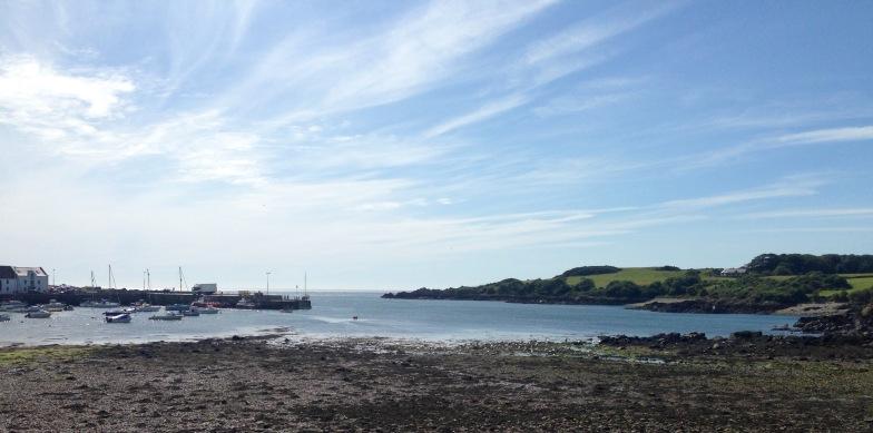 Isle of Whithorn; morning light.