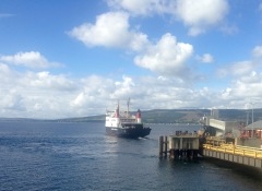 Ferry to Rothesay, Wemyss Bay.