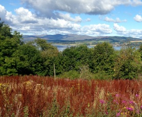 View of the Clyde from the Old Greenock Road.