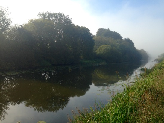 Foggy morning, Firth & Clyde canal.