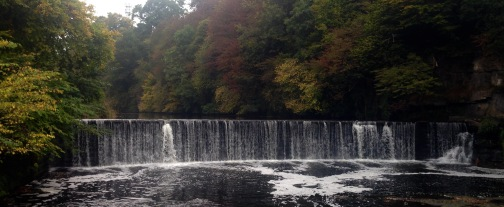 Waterfall at Cramond.