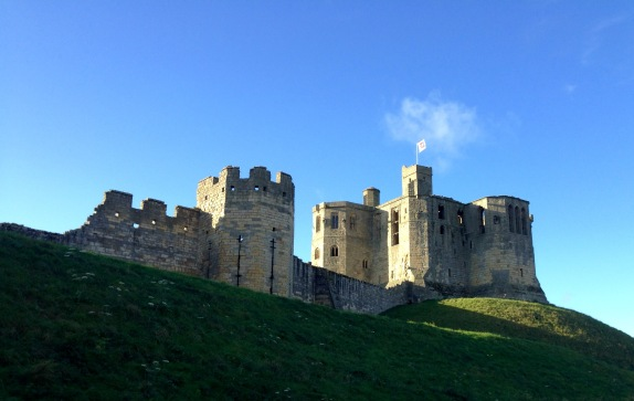 Warkworth Castle.