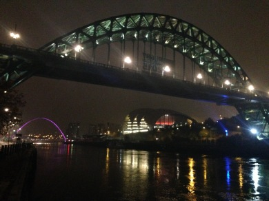 Newcastle. Bridge over the Tyne.