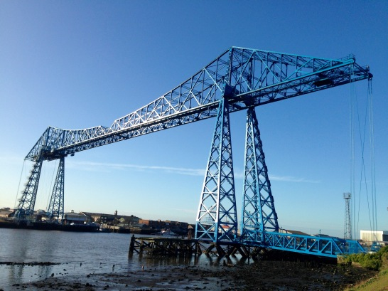 Tees Transporter Bridge, Middlesbrough.