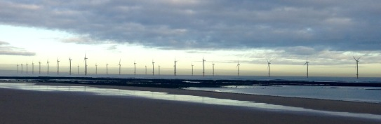 The beach at Redcar.