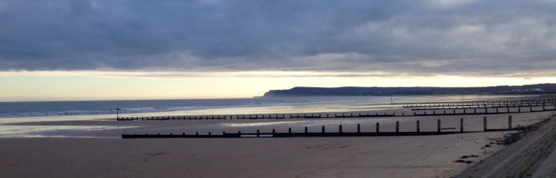 Beach walk to Saltburn by the Sea.