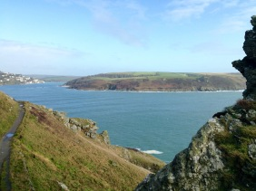 On from Salcombe.
