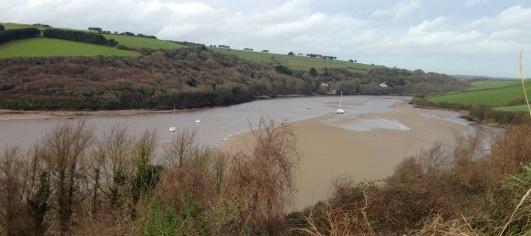 Walking round the River Avon, up to Aveton Gifford.
