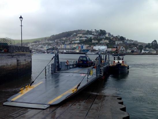 Kingswear to Dartmouth ferry.