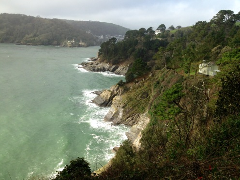 Approaching Kingswear.