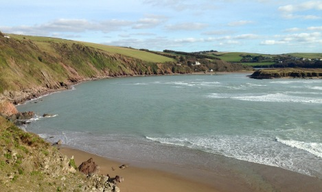 Mouth of the River Avon, Devon.