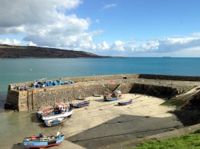 The harbour at Coverack.
