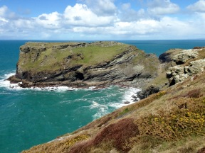 Tintagel Head.