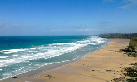 Watergate Bay.