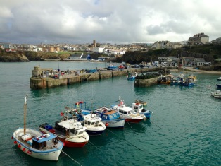Harbour, Newquay.