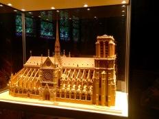 Cathédrale Notre Dame, model.