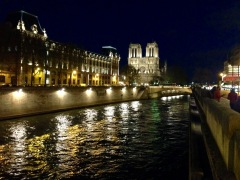 Notre Dame & The Seine.