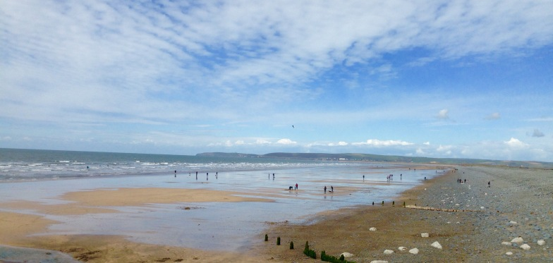 Beach at Westward Ho!