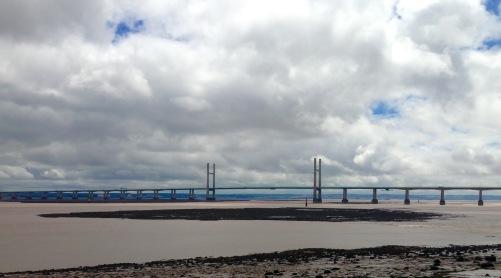 The Second Severn Bridge.
