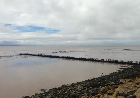 The Severn Estuary; after the rain.