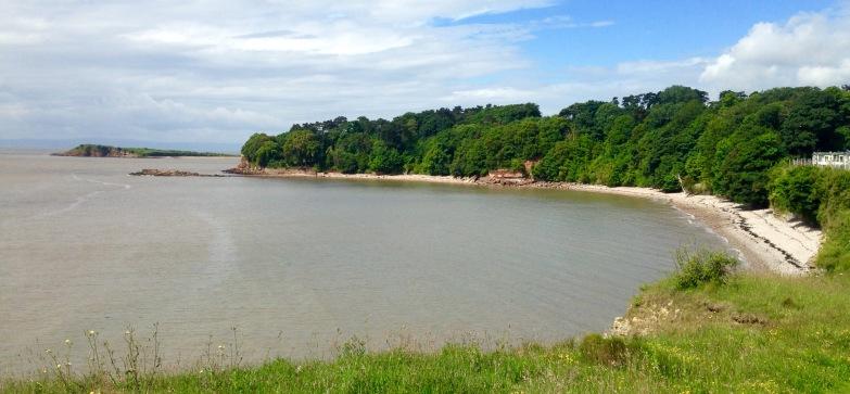 """""""The Bay"""", near Lavernock."""