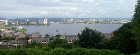 Cardiff Bay.