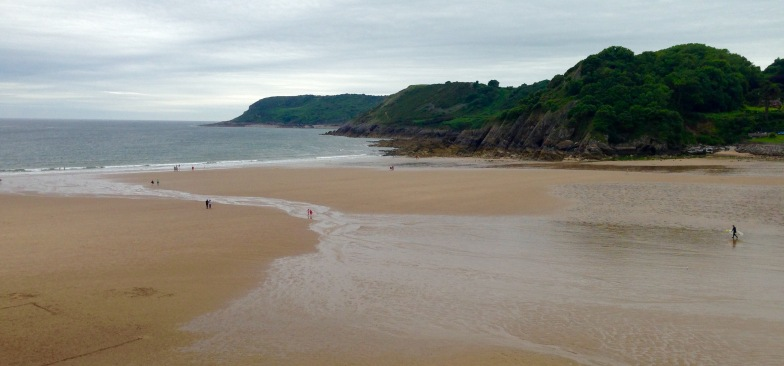 Caswell Bay.