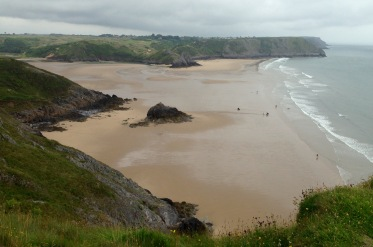 Three Cliffs Bay.