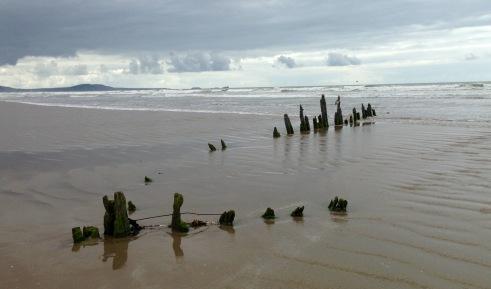 Shipwreck 2. Cefn Sidan Sands.
