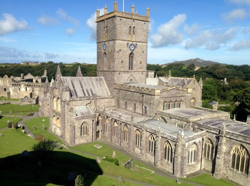 St. David's Cathedral.