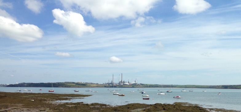 The ubiquitous Oil Refinery, Milford Haven.