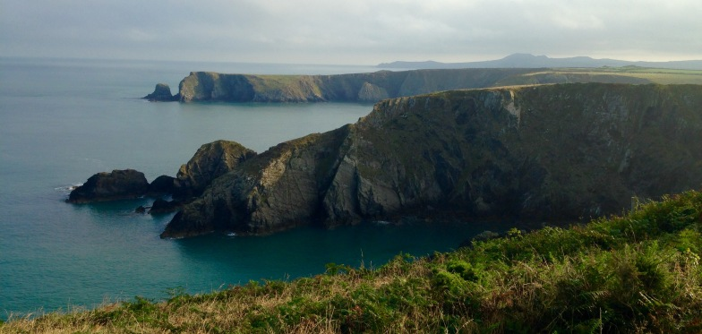 Early morning light, north from Abercastle.